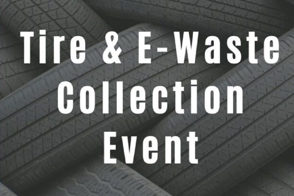 Tire and E-Waste Collection Event