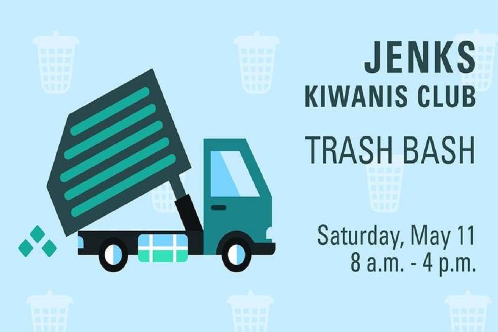 Jenks Kiwanis Club Trash Bash