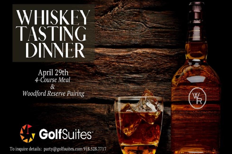 Whiskey Tasting Dinner @GolfSuites