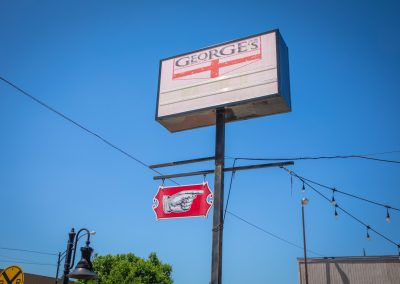 George's Pub Sign